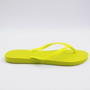 Havaianas Womans Flip Flop Bright Lime Green 7/8W